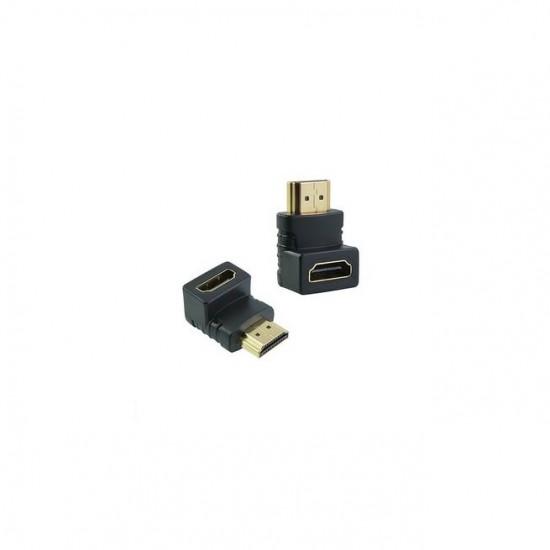 Adaptor HDMI mama - tata 90 grade