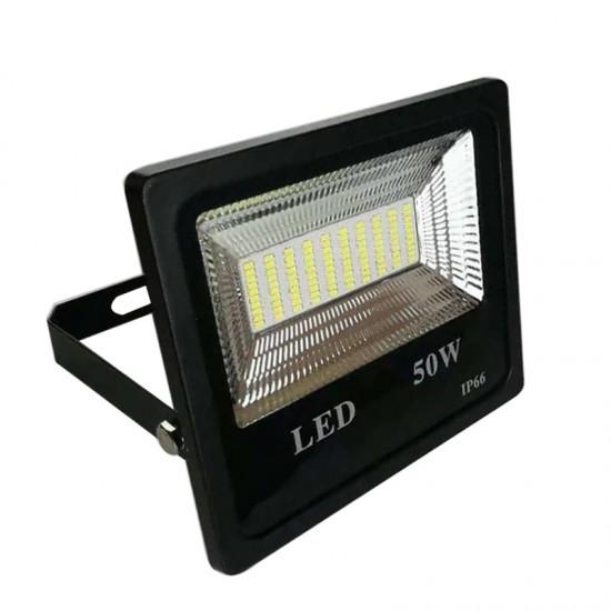 Proiector LED exterior 50W, lumina rece, 4500lm, IP66, 6500K