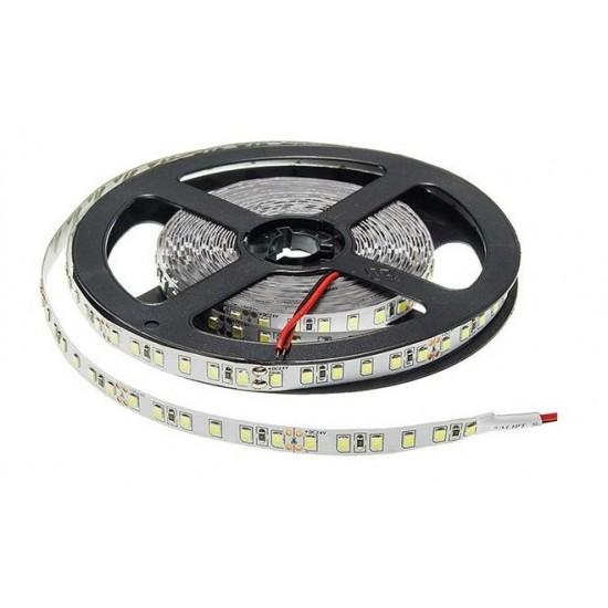 Banda LED interior 12V, 2835, 120D, 4000K, IP20, rola-5m, lumina calda