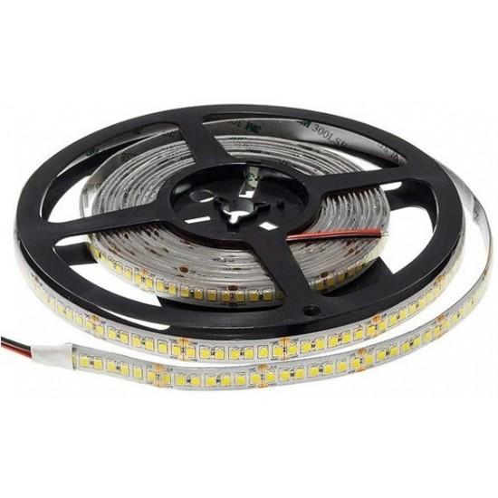 Banda LED exterior 12V, 2835, 240D, 6500K, IP65, rola-5m