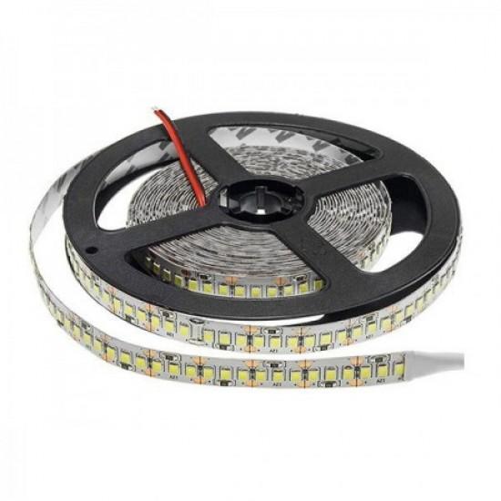 Banda LED interior 24V, 2835, 240D, 4000K, IP20, rola-5m, lumina calda