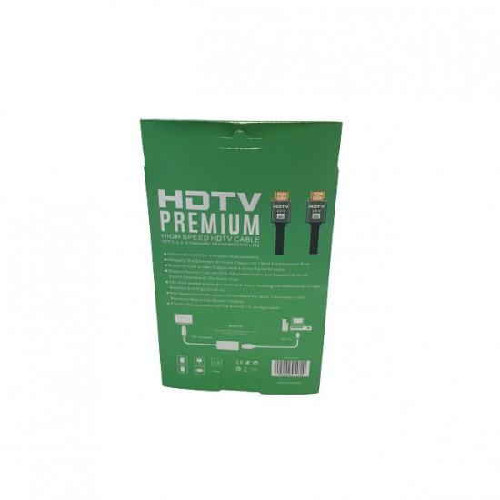 Cablu HDMI 4K, 3D, Premium, UHD, 2.0V, Ethernet, 1.5m