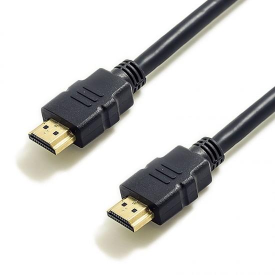 Cablu HDMI 1.5M, UHD, 2K, 1.4V, High Speed, negru