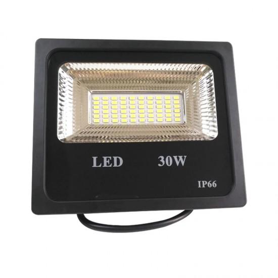 Proiector LED exterior 30W , lumina rece, 2700lm, IP66