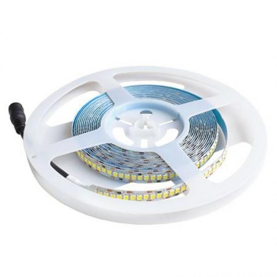 Banda LED interior 12V, 5730, 60D/M, 4000K, IP20, rola-5m, lumina calda