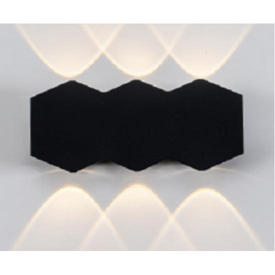 Aplica perete 6W LED de exterior BF118, 3000K