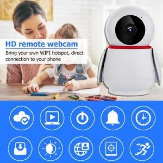 Baby Monitor HD Wireless , Monitorizare Video Audio Bebelusi-model Pinguin