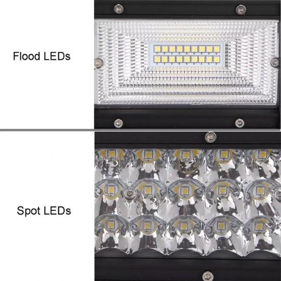 Proiector auto led bar curbat, 594W, 12-24V, 105CM, Spot & Flood Combo Beam