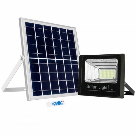 Proiector LED cu panou solar 150W