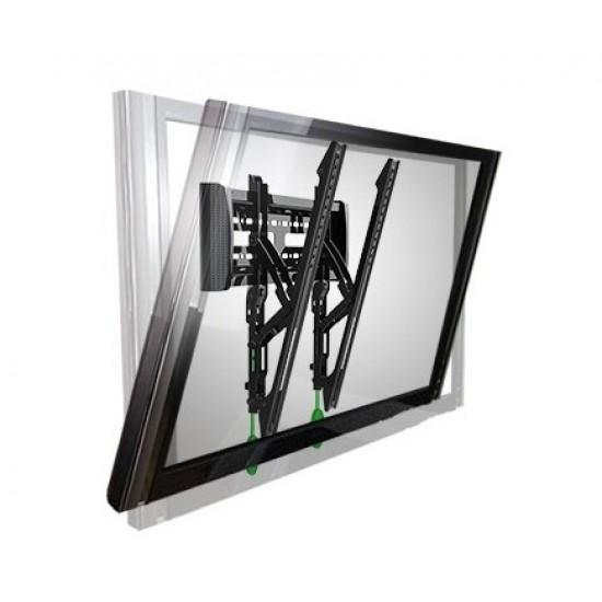 Suport TV perete, VESA 400x400mm, diagonala 32-55 inch, negru