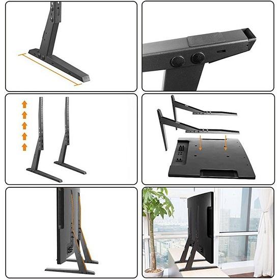 Suport TV masa, VESA 400x400mm, 26-45 inch