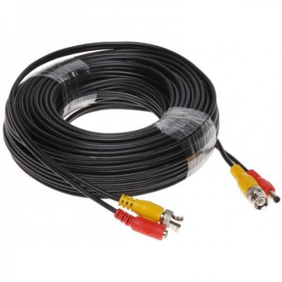 Cablu BNC 20M mufat si sertizat pentru camere supraveghere