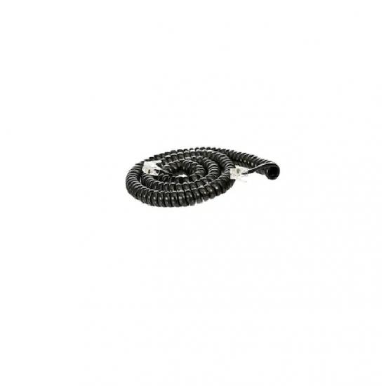 Cablu receptor spiralat 4.5m, negru