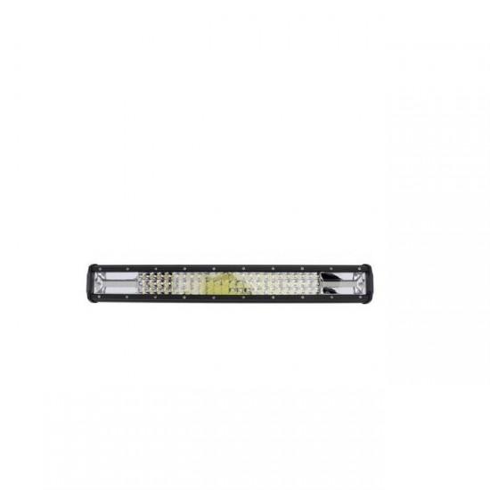 Proiector auto LED Bar Off Road  648 W - 228 leduri, iluminare spot si flood, negru
