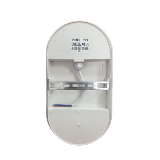 Aplica LED exterior,22W, 1980 lm, 6500K, Oval