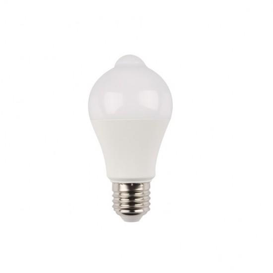 Bec LED cu senzor de miscare E27 15W 1350lm lumina rece