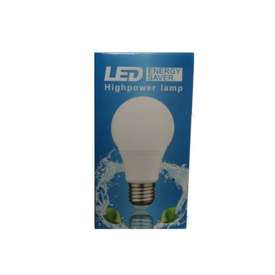 Bec LED A60 E27 5W 6500K - lumina rece