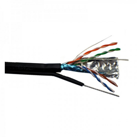Cablu FTP cu Sufa CAT5E Cupru 0.50-305M