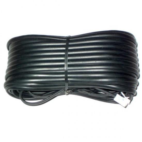 Cablu telefon cu mufe 15m negru