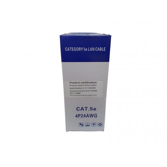 Cablu UTP CAT5E Cupru 0.45-100M