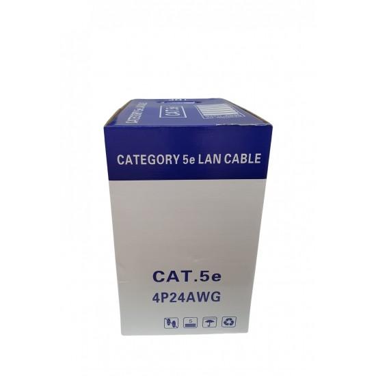 Cablu UTP CAT5E Aluminiu 0.50 -305M