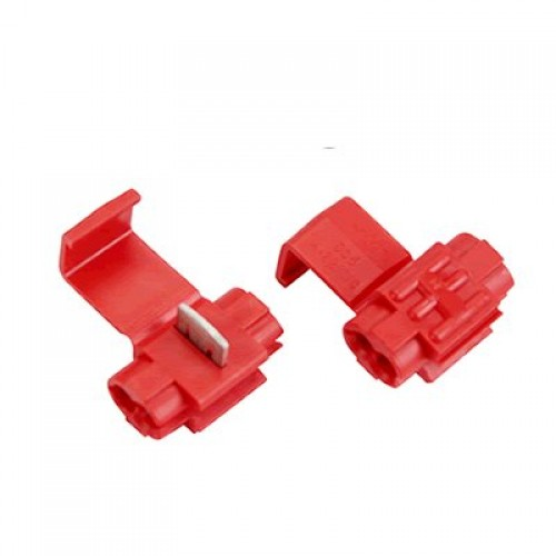 Conector 2 fire rosu 0,5-1,5mm2