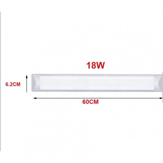Corp iluminat LED, 18W, 6500K, alb rece, IP 20, 0.6M