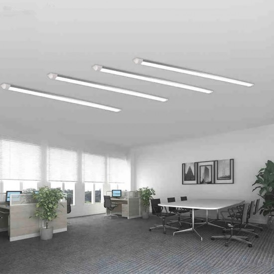 Corp iluminat LED, 100W, 6500K, alb rece, IP 20, 1.2M