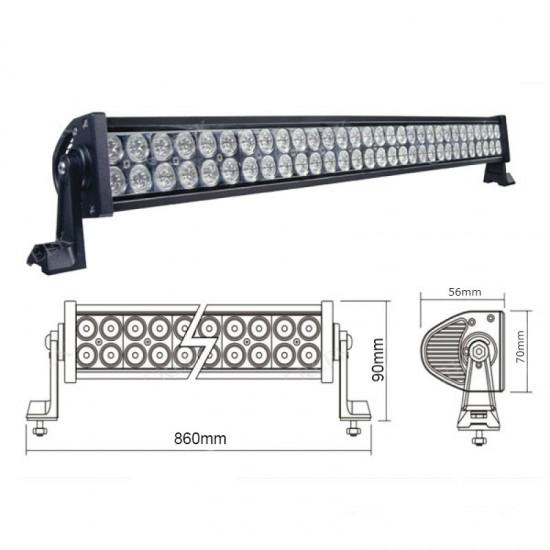 Proiector LED auto off-road, 12V-36V, 180W