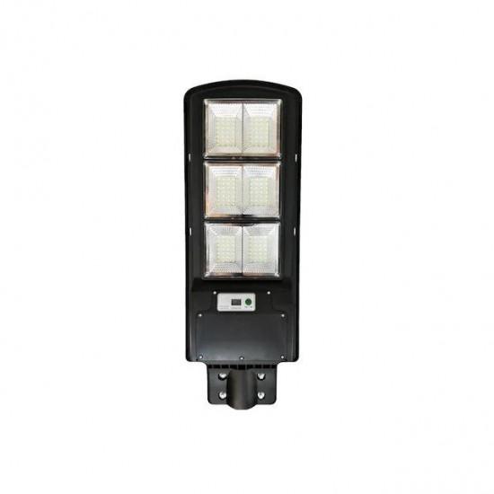 Lampa LED 90W iluminat stradal multiled cu panou solar integrat