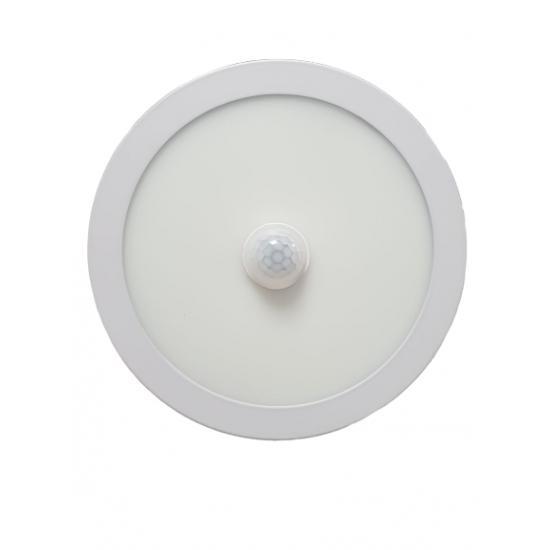Panou LED integrat cu senzor,12W, 1140 lm lumina rece