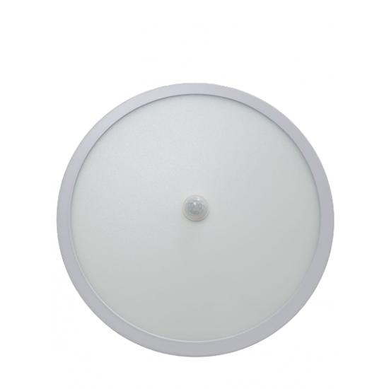 Panou LED integrat cu senzor, 24W, 2160lm, temperatura culoare 6400K