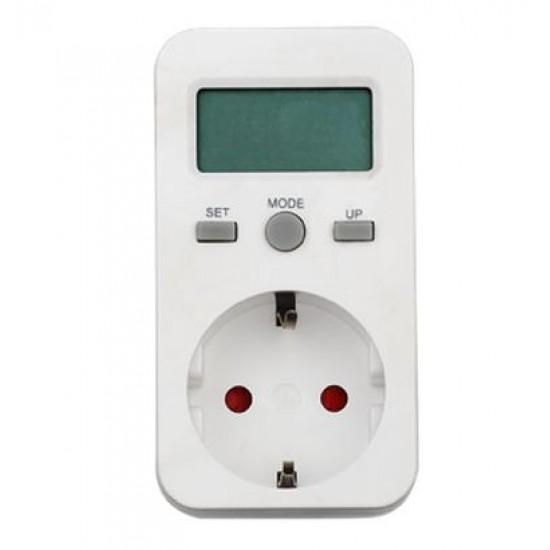 Priza cu contor consum energie electrica HG01Em
