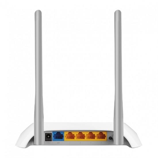 Router Wireless TP-Link, TL-WR850N; 1WAN 10/100, 4xLAN 10/100, 2 antene externe