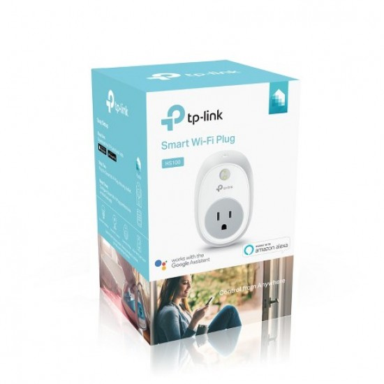 Priza inteligenta-Wi-Fi Smart Plug TP-LINK, HS100