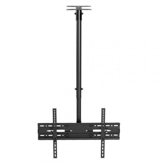 Suport TV  montare tavan, rotativ, negru, 26'' - 60''