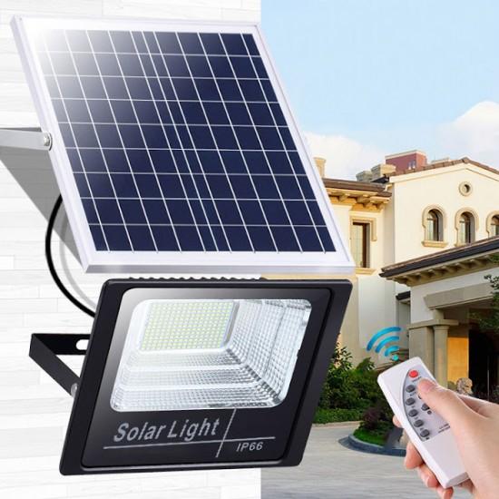 Proiector LED cu panou solar 30W